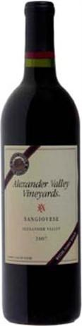 Alexander Valley Vineyards Sangiovese